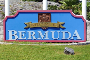 What is on the Bermuda flag?